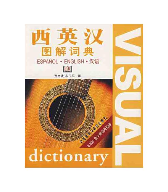 Diccionario visual español - inglés - chino