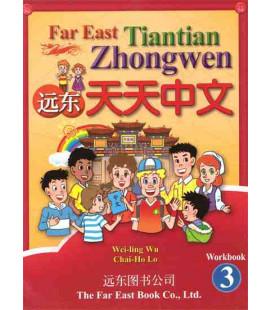 Chino para niños Far East 3- Libro de ejercicios (versión en inglés-no existe en español)