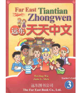 Chino para niños Far East 3- Libro del profesor (versión en inglés-no existe en español)