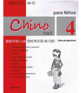 Chino fácil para niños 4. Libro de ejercicios