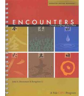 Encounters. Character Writing Workbook 1