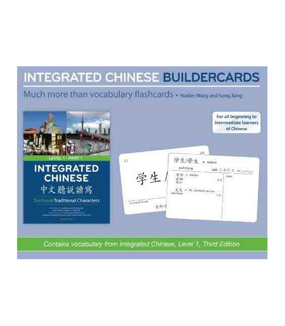 Integrated Chinese Builder Cards