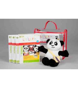 Little Pim- Chinese 3 Pack Regalo Vol 1 (3 DVD + Peluche + Bolsa)