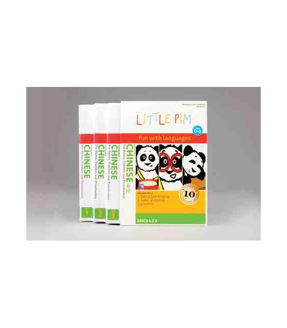 Little Pim- Chinese Volumen 1 (3 DVD)