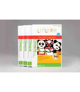 Little Pim- Chinese Volumen 1 (3 DVD)