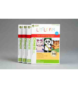 Little Pim- Chinese Volumen 2 (3 DVD)