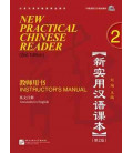 New Practical Chinese Reader 2. Instructor's Manual (2nd Edition) - Incluye CD