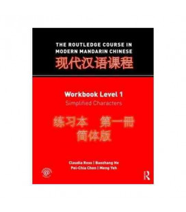 The Routledge Course in Modern Mandarin Chinese (Worktbook Level 1- Simplified Characteres)
