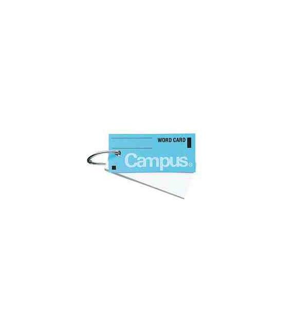 Mini tarjetas de vocabulario (85 hojas-Tapa color azul)