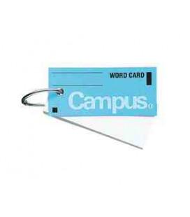 zzzzz Mini tarjetas de vocabulario - Campus Kokuyo (85 hojas-Tapa color azul)