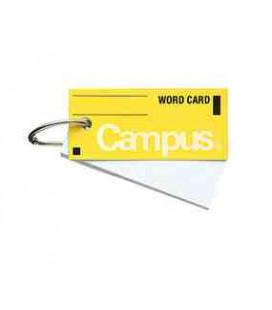 zzzzz Mini tarjetas de vocabulario - Campus Kokuyo (85 hojas-Tapa color amarillo)