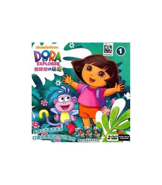 Dora la exploradora Vol. 1- 2 DVD (Versión china)