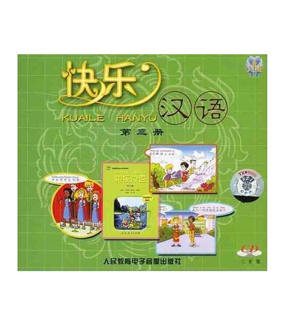 Kuaile Hanyu Vol 3 - Pack de 2 CD (versión en inglés)