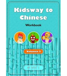 Kidsway to Chinese (YCT 1) - Volume 2 Workbook (Versión en español)