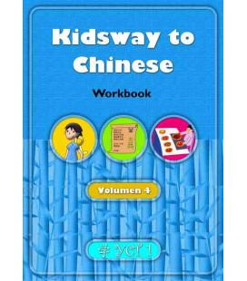 Kidsway to Chinese (YCT 1) - Volume 4 Workbook (Versión en español)