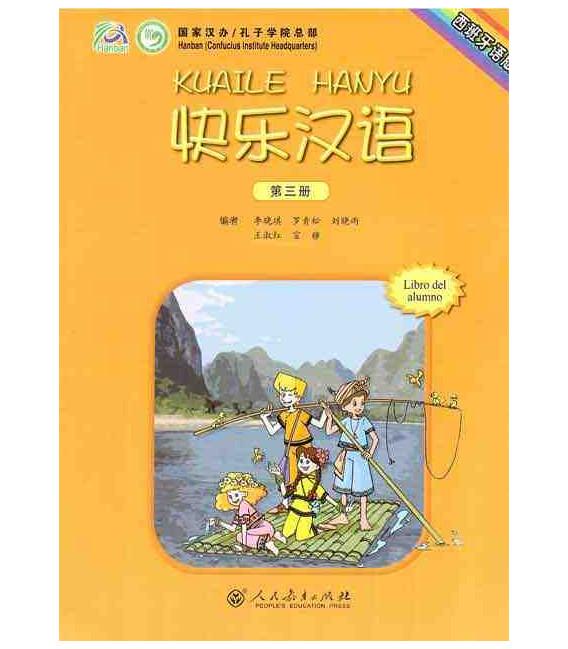 Kuaile Hanyu Vol 3- Libro del estudiante