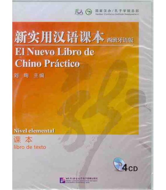 """El nuevo libro de chino práctico 1 (""""Versión Confucio"""")- Pack CD libro del alumno- versión elemental"""