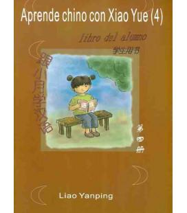 APRENDE CHINO CON XIAO YUE 4 (INCLUYE LIBRO DEL ALUMNO+ LIBRO DE ACTIVIDADES+ CD)