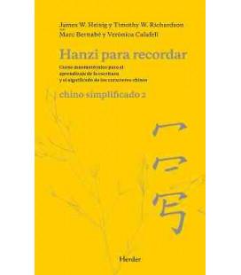 Hanzi para recordar- Chino simplificado 2