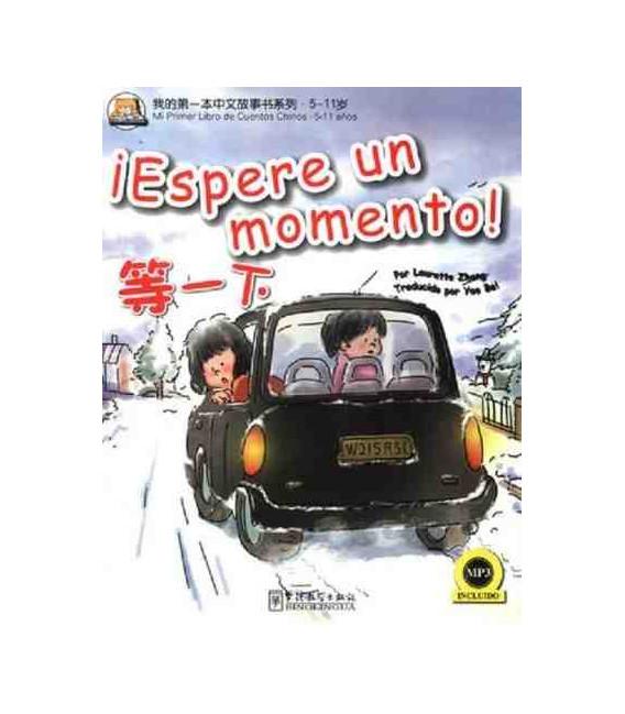¡Espere un momento (Libro + CD MP3)