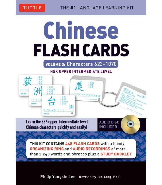 Chinese Flash Cards - Volume 3: HSK Upper Intermediate Level