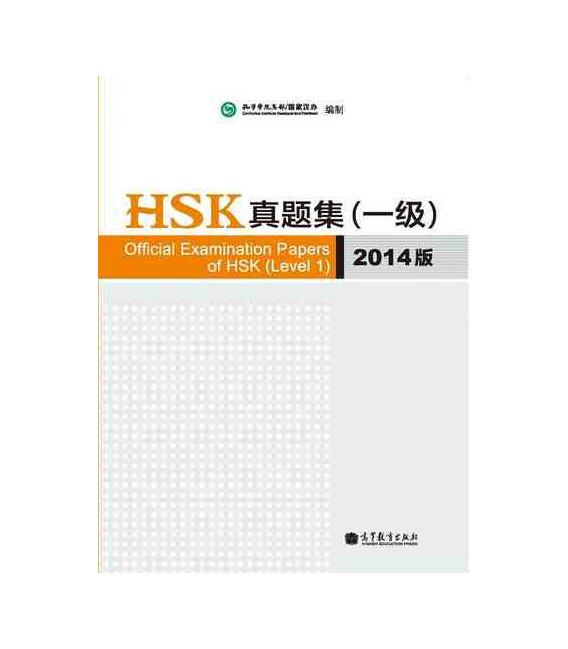 Official Examination Papers of HSK Level 1 - Edición 2014 (Incluye CD)