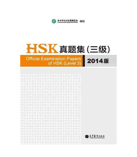 Official Examination Papers of HSK Level 3 - Edición 2014 (Incluye CD)