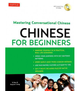 Chinese for Beginners- Mastering Conversational Chinese (Audio CD Included)