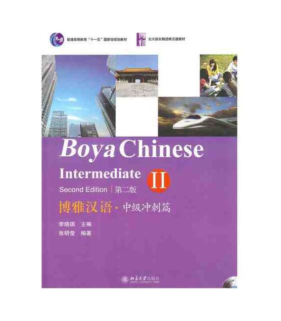 Boya Chinese Intermediate 2- Second Edition (Incluye 2 CD)