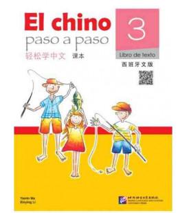 El Chino Paso a Paso 3 - Libro de texto (incluye CD)