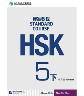 Standard Course 5B (Xia)- Workbook (Libro + CD MP3) Serie de libro de texto basada en el HSK