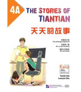 The Stories of Tiantian 4A- Incluye audio para descargarse con código QR