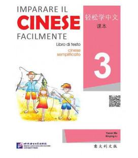 Imparare il cinese facilmente - Libro si testo 3 (Incluye CD)