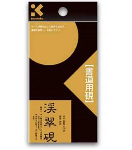 Tintero de piedra - Kuretake Hongsekikeisuiken 4.5 Hira with Header