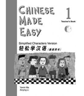 Chinese Made Easy 1 - Libro del Profesor (Incluye CD)