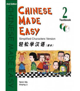 Chinese Made Easy 2 - Textbook (Incluye CD)
