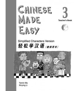 Chinese Made Easy 3 - Libro del Profesor (Incluye CD)