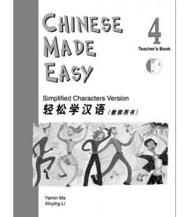 Chinese Made Easy 4 - Libro del Profesor (Incluye CD)
