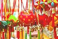 Bolsitas perfumadas llamadas Xiangbao.