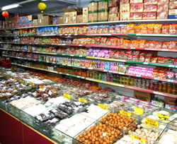 Un supermercado tiene un montón de dongxi (cosas)