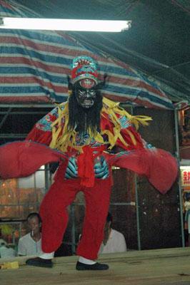 Tiao Chung Kui, es el principal espíritu del Chung Yuan Chi