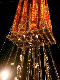 Tou Cheng Qiang Gu: es la actividad más grande de todas las ceremonias folklóricas y religiosas de Taiwán