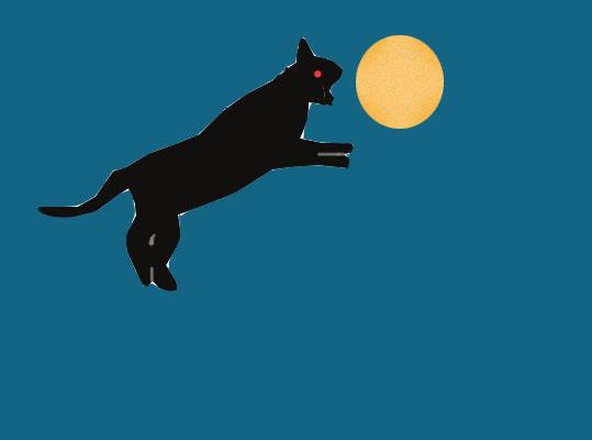 El perro celestial que se comió la luna