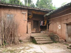 La casa donde vivió un amigo de mi padre.