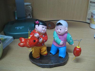 Más figuras de arcilla en Tianjin