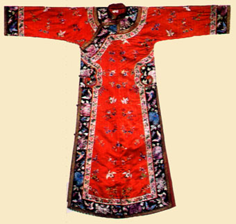 Vestido tradicional chino, el qipao.
