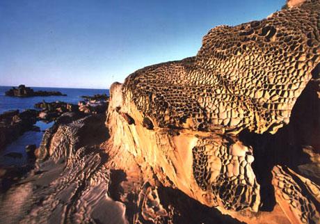Roca en el agua de Jiale
