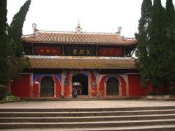Puerta principal del templo Shanggui tang